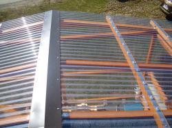 Lichtplatten 1,4 mm PVC SINUS 76/18 glashell