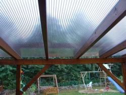 Stegplatten-3-fach 16 mm Polycarbonat glashell