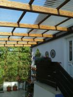 Lichtplatten 1,0 mm PVC TRAPEZ 70/18 glashell u. bronze