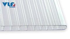Stegdoppelplatten 10 mm Polycarbonat glasklar