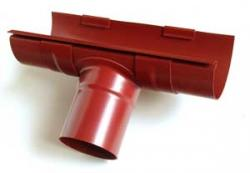 PVC Dachrinnen-Komplettpaket 8,00 m